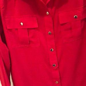 Red Blouse - Calvin Klein